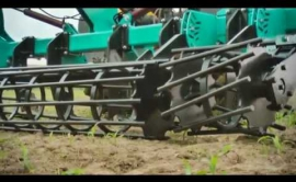 Embedded thumbnail for  Чизели-глубокорыхлители серии ЧГ -5.5 з планчатим котком